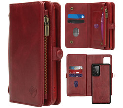iMoshion iMoshion 2-in-1 Wallet Booktype Samsung Galaxy A72 - Rood (D)