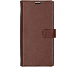 Valenta Valenta Leather Booktype Samsung Galaxy Note 10 Plus - Bruin (D)