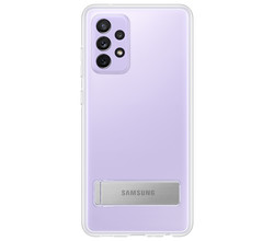 Samsung Samsung Clear Standing Backcover Galaxy A72 - Transparant (D)