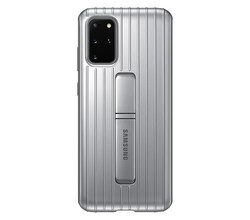 Samsung Samsung Protective Standing Backcover Galaxy S20 Plus - Zilver (D)