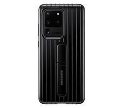 Samsung Samsung Protective Standing Backcover Galaxy S20 Ultra - Zwart (D)