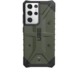 UAG UAG Pathfinder Backcover Samsung Galaxy S21 Ultra - Olive (D)