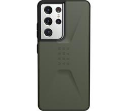 UAG UAG Civilian Backcover Samsung Galaxy S21 Ultra - Olive (D)