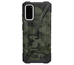 UAG UAG Pathfinder Backcover Samsung Galaxy S20 - Camo Forest Black (D)
