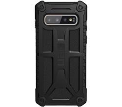UAG UAG Monarch Backcover Samsung Galaxy S10 - Zwart (D)