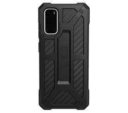 UAG UAG Monarch Backcover Samsung Galaxy S20 - Carbon Fiber Black (D)