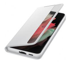 Samsung Samsung Clear View Booktype Galaxy S21 Ultra - Grijs (D)