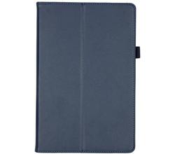 TPL Effen Bookcase Samsung Galaxy Tab S5e - Donkerblauw (D)