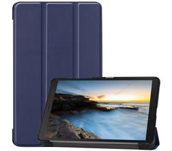 iMoshion iMoshion Trifold Bookcase Galaxy Tab A 8.0 (2019) - Donkerblauw (D)