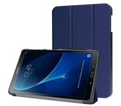 iMoshion iMoshion Trifold Bookcase Galaxy Tab A 10.1 (2016) - Donkerblauw (D)