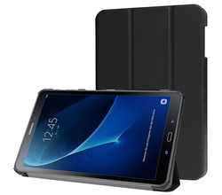 iMoshion iMoshion Trifold Bookcase Samsung Galaxy Tab A 10.1 (2016) - Zwart (D)