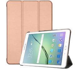 iMoshion iMoshion Trifold Bookcase Samsung Galaxy Tab S2 9.7 - Rosé Goud (D)