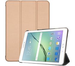 iMoshion iMoshion Trifold Bookcase Samsung Galaxy Tab S2 9.7 - Goud (D)