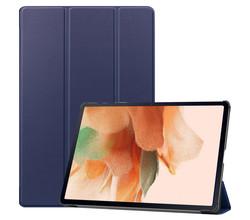 iMoshion iMoshion Trifold Bookcase Samsung Galaxy Tab S7 Lite - Donkerblauw (D)