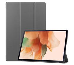 iMoshion iMoshion Trifold Bookcase Samsung Galaxy Tab S7 Lite - Grijs (D)