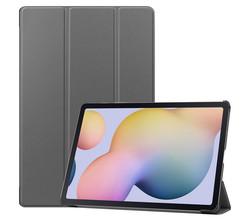 iMoshion iMoshion Trifold Bookcase Samsung Galaxy Tab S7 Plus / Tab S7 FE 5G - Grijs (D)