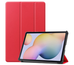 iMoshion iMoshion Trifold Bookcase Samsung Galaxy Tab S7 - Rood (D)