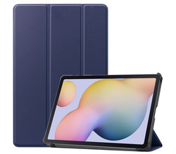 iMoshion iMoshion Trifold Bookcase Samsung Galaxy Tab S7 - Donkerblauw (D)