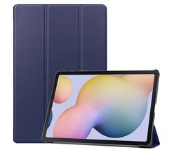 iMoshion iMoshion Trifold Bookcase Samsung Galaxy Tab S7 Plus / Tab S7 FE 5G - Donkerblauw (D)