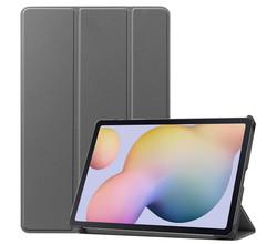 iMoshion iMoshion Trifold Bookcase Samsung Galaxy Tab S7 - Grijs (D)