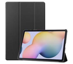 iMoshion iMoshion Trifold Bookcase Samsung Galaxy Tab S7 Plus / Tab S7 FE 5G - Zwart (D)