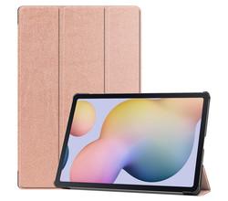 iMoshion iMoshion Trifold Bookcase Samsung Galaxy Tab S7 Plus / Tab S7 FE 5G - Rosé Goud (D)