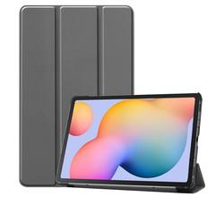 iMoshion iMoshion Trifold Bookcase Samsung Galaxy Tab S6 Lite - Grijs (D)