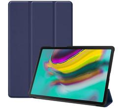 iMoshion iMoshion Trifold Bookcase Samsung Galaxy Tab S5e - Donkerblauw (D)