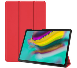 iMoshion iMoshion Trifold Bookcase Samsung Galaxy Tab S5e - Rood (D)