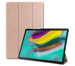 iMoshion iMoshion Trifold Bookcase Samsung Galaxy Tab S5e - Rosé Goud (D)