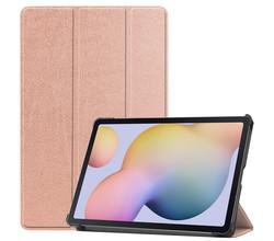 iMoshion iMoshion Trifold Bookcase Samsung Galaxy Tab S7 - Rosé Goud (D)