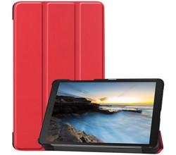 iMoshion iMoshion Trifold Bookcase Galaxy Tab A 8.0 (2019) - Rood (D)