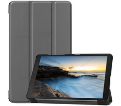 iMoshion iMoshion Trifold Bookcase Galaxy Tab A 8.0 (2019) - Grijs (D)