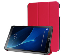 iMoshion iMoshion Trifold Bookcase Galaxy Tab A 10.1 (2016) - Rood (D)