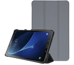 iMoshion iMoshion Trifold Bookcase Galaxy Tab A 10.1 (2016) - Grijs (D)