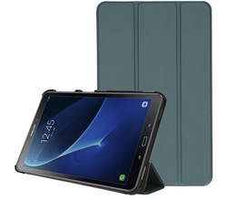 iMoshion iMoshion Trifold Bookcase Galaxy Tab A 10.1 (2016) - Donkergroen (D)