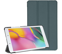 iMoshion iMoshion Trifold Bookcase Galaxy Tab A 8.0 (2019) - Donkergroen (D)