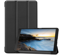 iMoshion iMoshion Trifold Bookcase Samsung Galaxy Tab A 8.0 (2019) - Zwart (D)