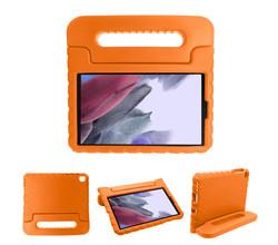 iMoshion iMoshion Kidsproof Backcover met handvat Galaxy Tab A7 Lite - Oranje (D)