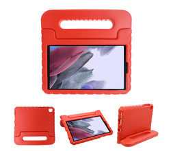 iMoshion iMoshion Kidsproof Backcover met handvat Galaxy Tab A7 Lite - Rood (D)