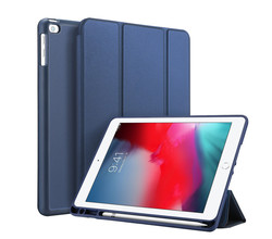 Accezz Accezz Smart Silicone Bookcase Samsung Galaxy Tab A7 - Donkerblauw (D)