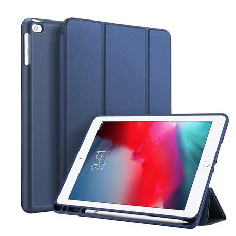 Accezz Smart Silicone Bookcase Samsung Galaxy Tab A7 - Donkerblauw (D)