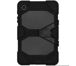 TPL Extreme Protection Army Backcover Galaxy Tab A7 Lite - Zwart (D)
