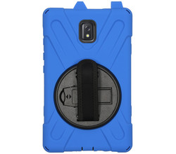 TPL Extreme Backcover met strap Galaxy Tab Active 3 -Donkerblauw (D)