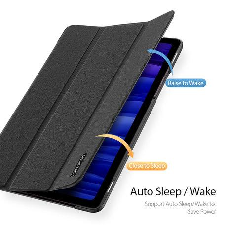 Dux Ducis Domo Bookcase Samsung Galaxy Tab A7 - Zwart (D)