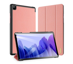 Dux Ducis Dux Ducis Domo Bookcase Samsung Galaxy Tab A7 - Rosé Goud (D)