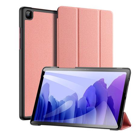 Dux Ducis Domo Bookcase Samsung Galaxy Tab A7 - Rosé Goud (D)