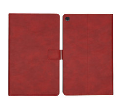 iMoshion iMoshion Luxe Tablethoes Samsung Galaxy Tab A 10.1 (2019) - Rood (D)