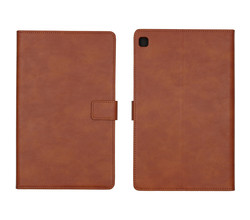 iMoshion iMoshion Luxe Tablethoes Samsung Galaxy Tab S6 Lite - Bruin (D)