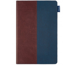 Gecko Covers Gecko Covers Easy-Click 2.0 Bookcase Galaxy Tab A7 - Bruin / Blauw (D)